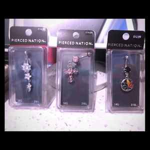 **NEW Belly Rings 3/25